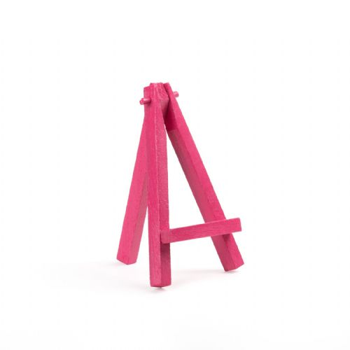 "Pink Colour Mini Easel 5"" - Beech Wood"